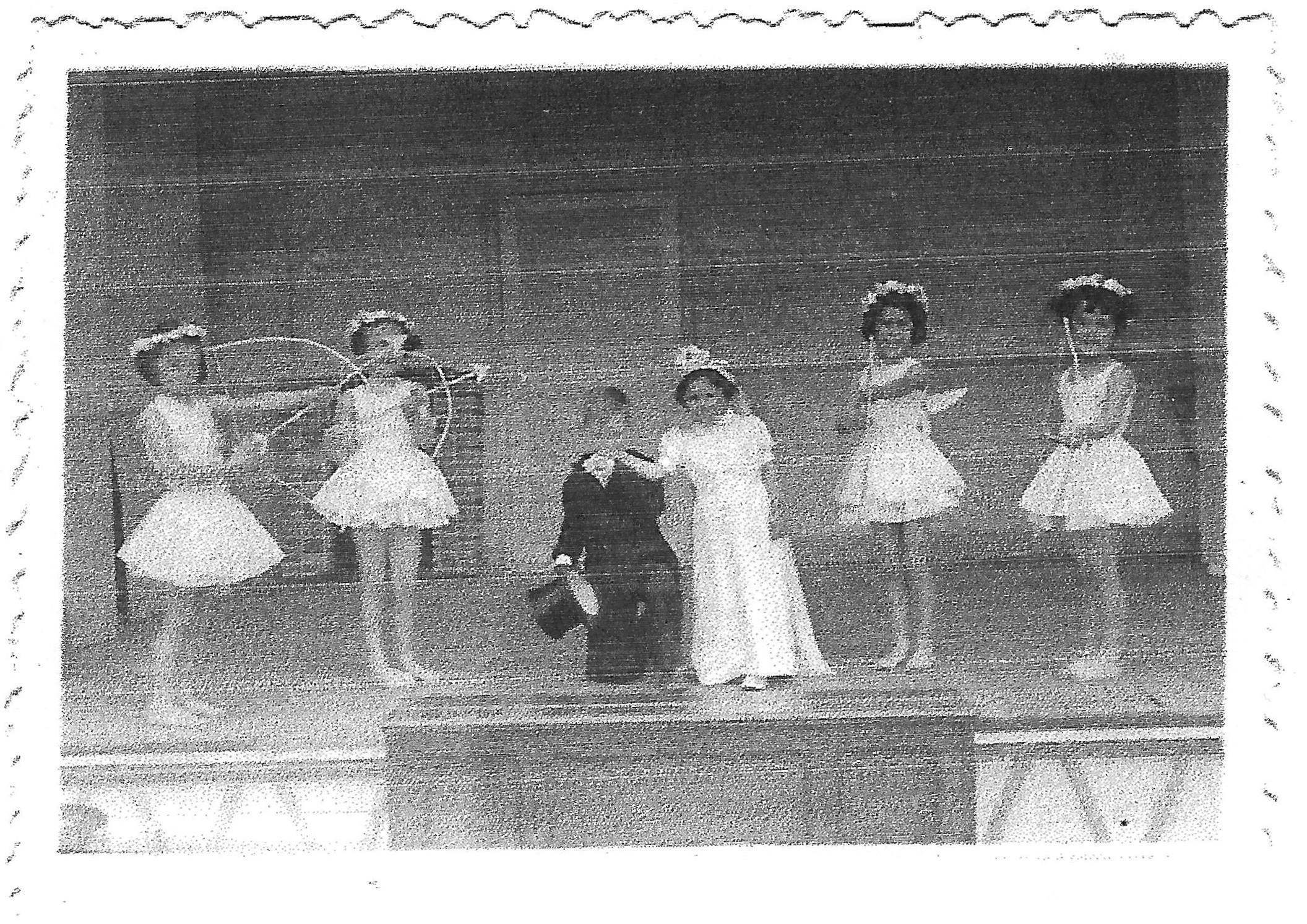 Le Ballet - lors d'un spectacle en 1951